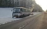 Втридцатиградусный мороз сломался автобус Кемерово-Новокузнецк