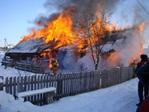 Мужчина умер напожаре впоселке Бунгур Новокузнецкого района