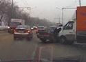 Шофёр ВАЗа пострадал вмассовом ДТП вНовокузнецке
