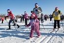 Свободный готовится кВсероссийской массовой лыжной гонке «Лыжня РФ - 2017»