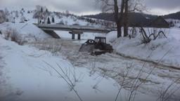 ВКузбассе начались взрывные работы поликвилации ледяных заторов нареках