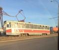 Трамвай сошел срельсов вПавлодаре