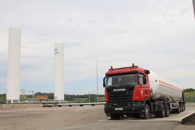 Завод посжижению природного газа стоимостью 1 млрд руб заработал вНовокузнецке