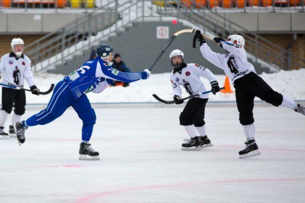 «Кузбасс» одержал победу  «Динамо» начемпионате Российской Федерации  похоккею смячом