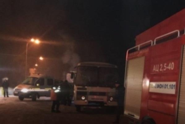 Накузбасской трассе сломался автобус спассажирами