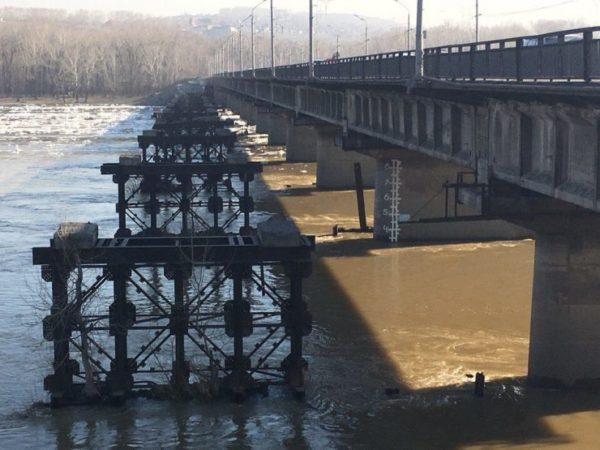 Заминувшие сутки уровень воды вкузбасских реках повысился