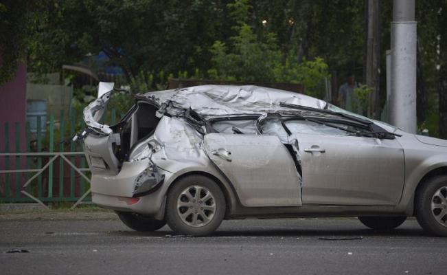 Подробности аварии с участием БТРа в Кемерове (видео)