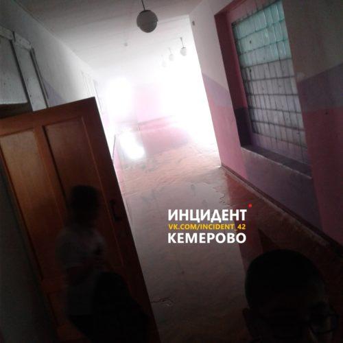 Трубу с кипятком прорвало в кемеровской школе №7