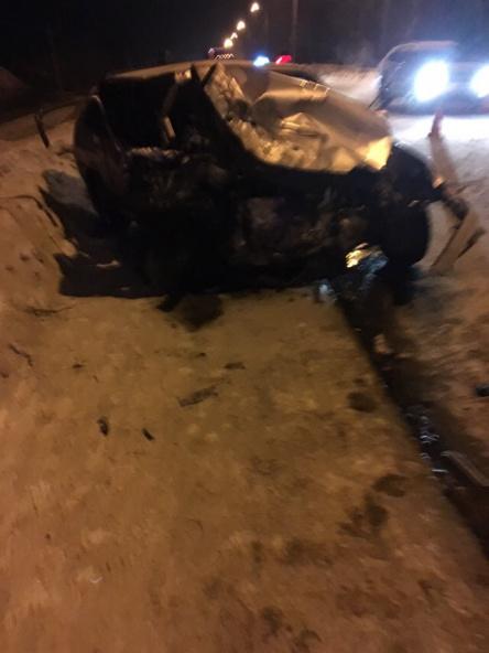 Кемеровчанка погибла в лобовом ДТП с участием такси