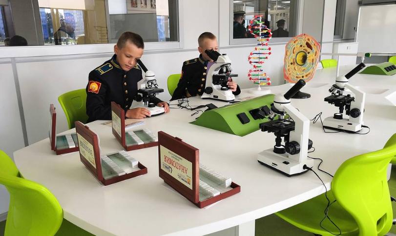 Президентское кадетское училище открыли в Кемерове. Фото и видео