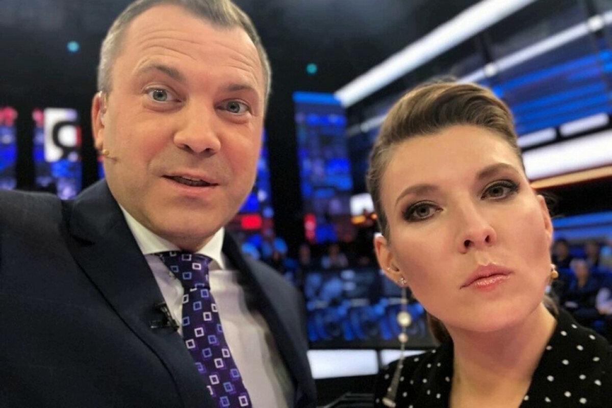 Личная жизнь журналистов Евгения Попова и Ольги Скабеевой – будет ли развод