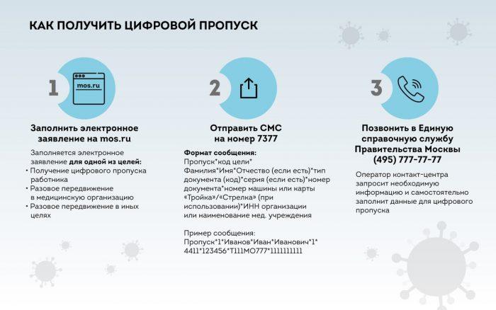 Как получить пропуск в Москве на время карантина