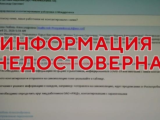 Владимир Чернов опроверг сообщение о заражении врачей в Междуреченске