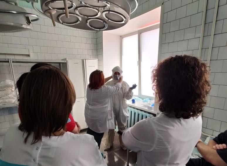 В Прокопьевске для лечения коронавируса переоборудовали роддом