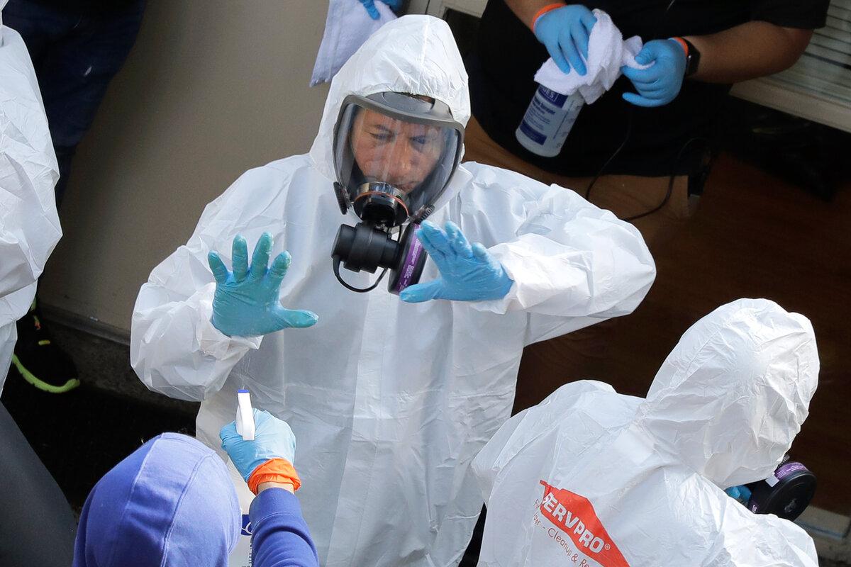 Учёные пришли к единому мнению о том, что коронавирус не может жить на каких-либо поверхностях