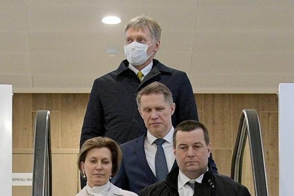Дмитрий Песков заболел коронавирусом вместе с Татьяной Навкой