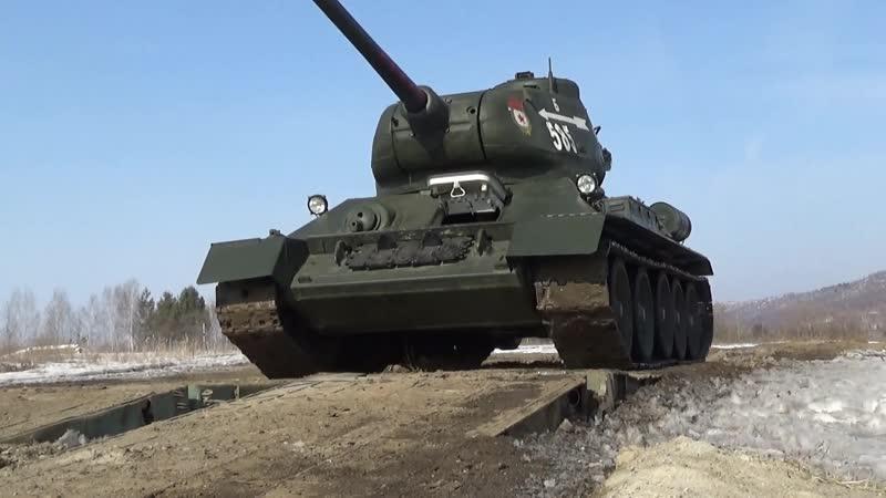 Танк Т-34-85 восстановят в Новокузнецке