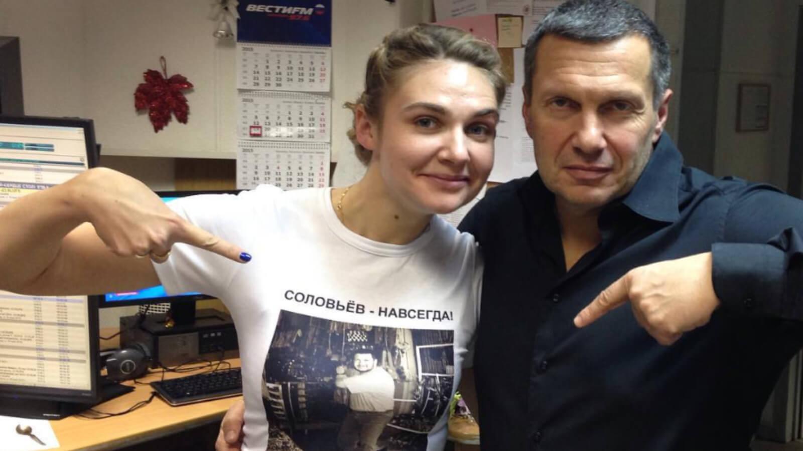 Конфликт Анны Шафран и Владимира Соловьёва: причины увольнения журналистки