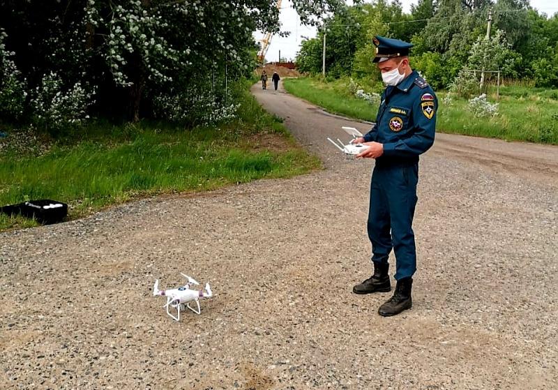 Беспилотники приходят в Кузбасс: добровольцы-спасатели будут мониторить паводковую ситуацию
