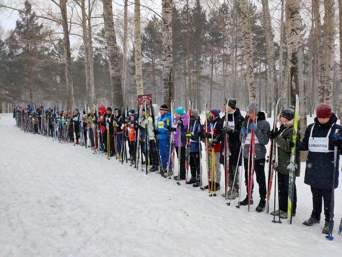 В Прокопьевске состоялась лыжная гонка к 85-летию легендарного перехода «Кузбасс-Донбасс»